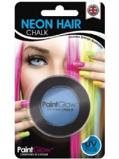 Paint Glow Neon UV Hair Chalk - Blue